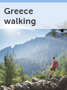Greece walking