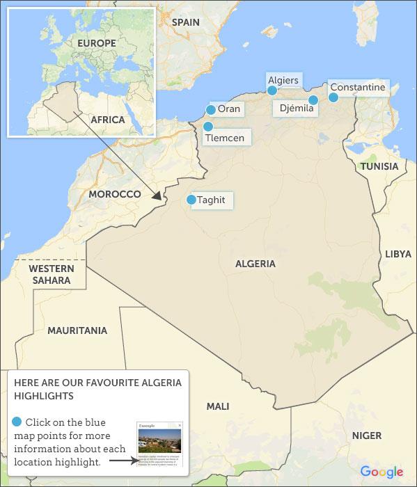 Algeria travel guide Helping Dreamers Do