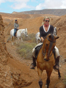 Horseriding on Fuerteventura. Photo by Carlos Rivero