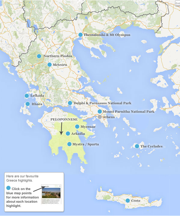Where to go in Greece Helping Dreamers Do