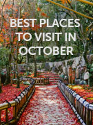 Best places to go in October