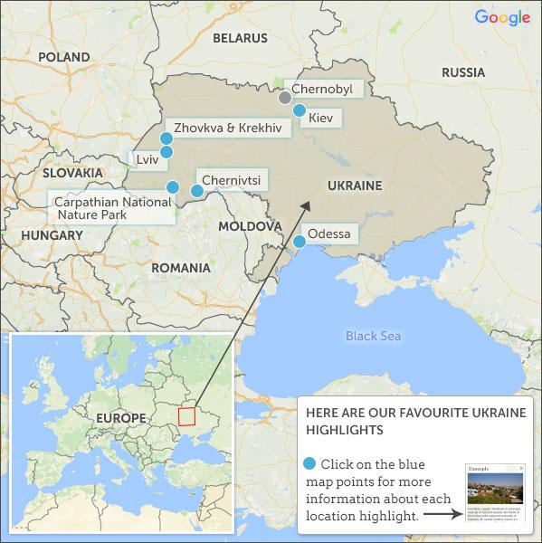 Ukraine travel guide Helping Dreamers Do