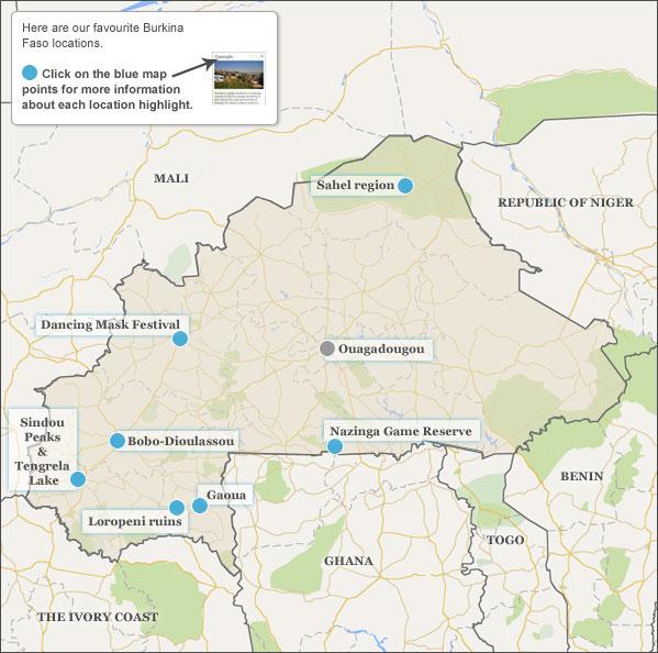Burkina Faso travel guide Responsible travel guide to Burkina Faso