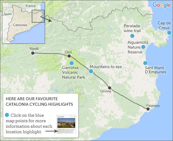 Catalonia cycling holidays Responsible travel guide to Catalonia