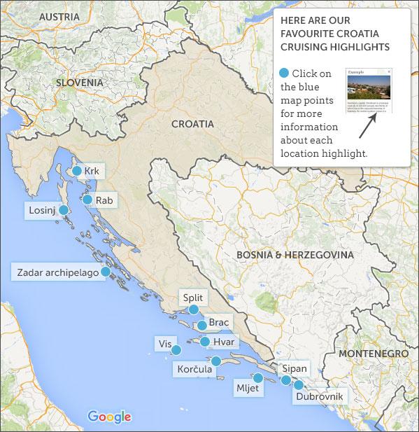 Where To Go On A Croatia Small Ship Cruise