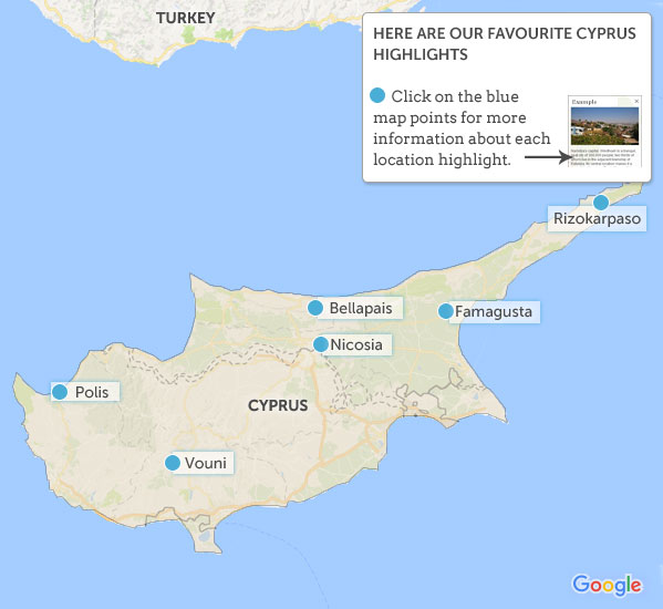 Cyprus travel guide Responsible travel guide to Cyprus