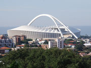 Moses Mabhida Stadium, Durban, KwaZulu-Natal. Photo by Richard Madden.
