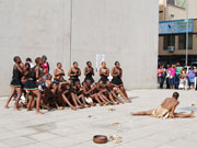Street dancers, KwaZulu-Natal. Photo by Richard Madden