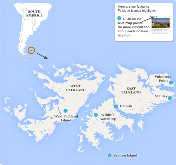 Falkland Islands travel guide Responsible Travel guide to the Falklands