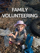 Family volunteering travel guide