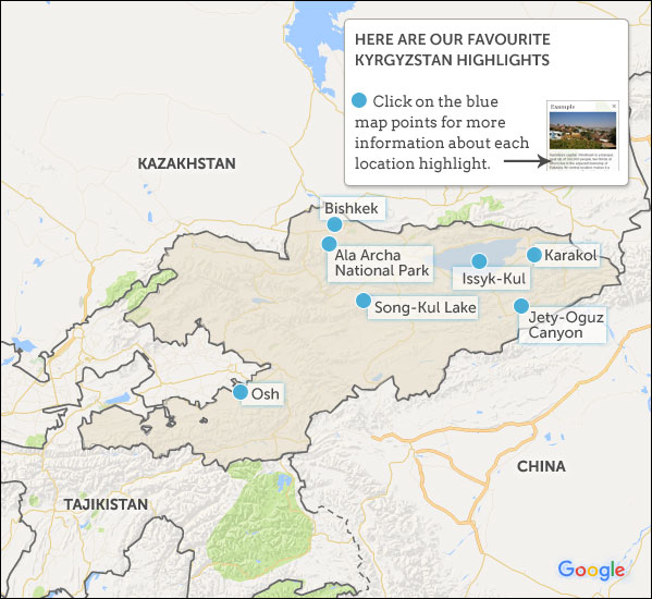 Political Map Of Kyrgyzstan Nations Online Project Kyrgyzstan Maps