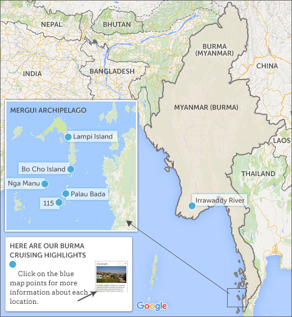 Where to go small ship cruising in Myanmar. Helping Dreamers Do