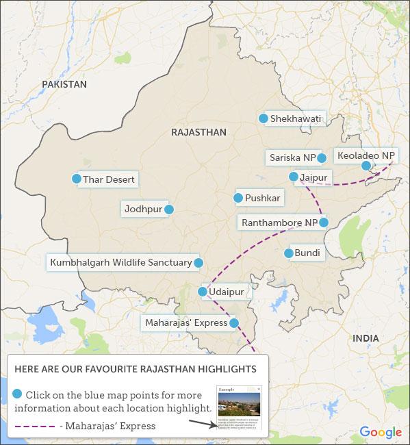Map Of Rajasthan Rajasthan map & highlights Map Of Rajasthan