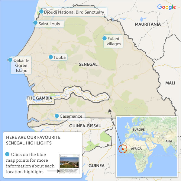 Senegal travel guide Helping Dreamers Do