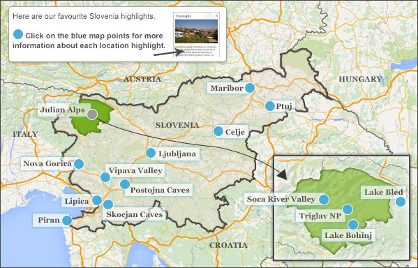 Places to visit in Slovenia Helping Dreamers Do