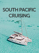 South Pacific cruising