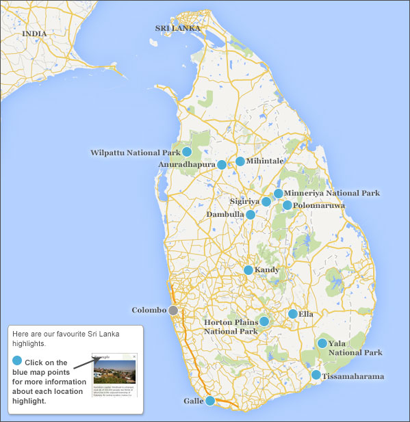 Sri Lanka highlights Responsible travel guide to Sri Lankas highlights