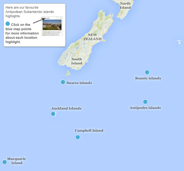 New Zealand Subantarctic Islands Tour