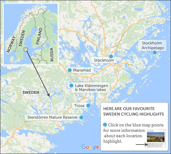 Where to go cycling in Sweden Helping Dreamers Do