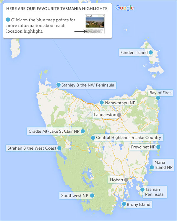 Places to visit in Tasmania Tasmania highlights and best places to