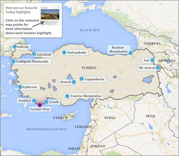 Where to go in Turkey Helping Dreamers Do