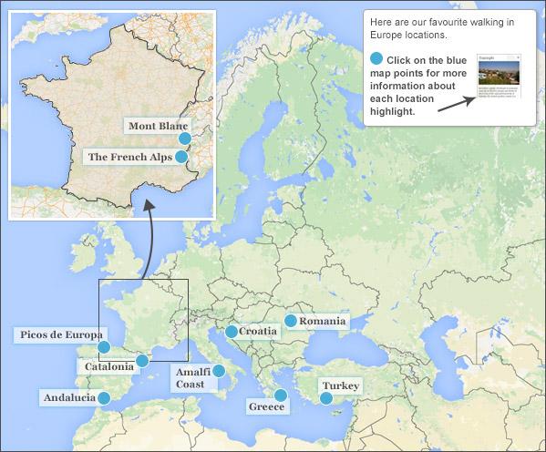 ten best walking holidays in europe