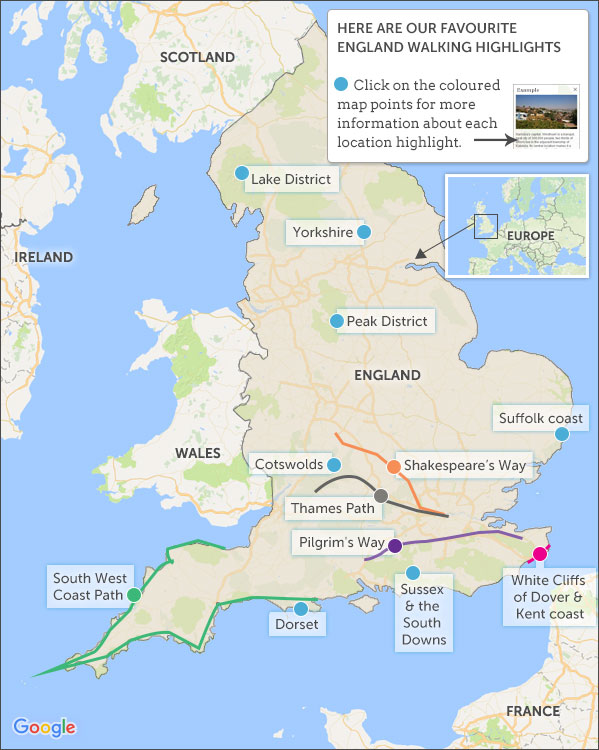 Where To Go On A Walking Holiday In England Helping Dreamers Do