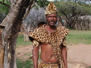 Zulu man, KwaZulu-Natal. Photo by Richard Madden