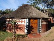 Zulu lodge, KwaZulu-Natal. Photo by Richard Madden