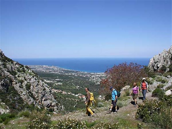North Cyprus walking holiday