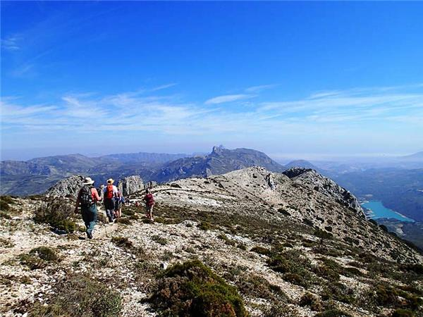 Sierra de Aitana walking holidays in Andalucia, Spain