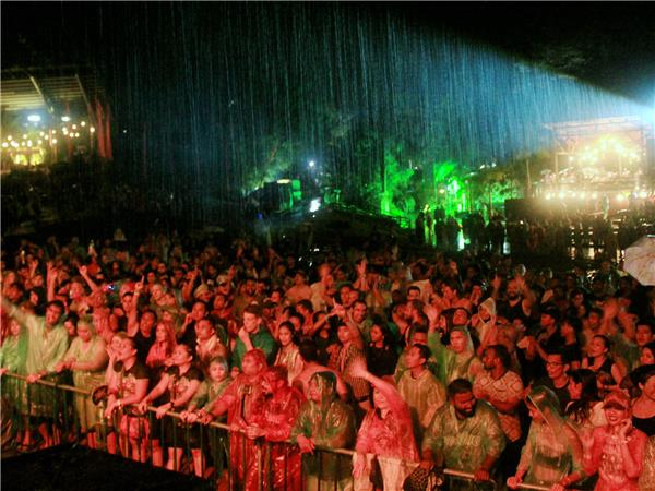 Sarawak Rainforest music festival holiday