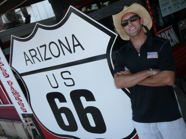 Route 66 tour, USA