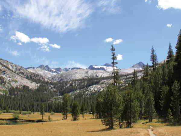 California walking tour, John Muir Trail