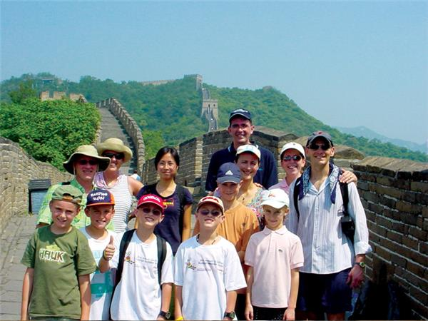 Family holiday to China