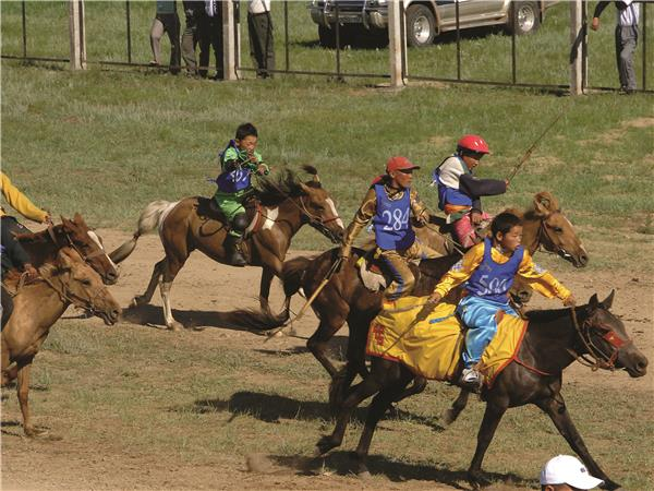 Naadam Festival holiday in Mongolia