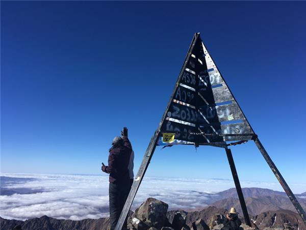Climb Mount Toubkal walking holiday