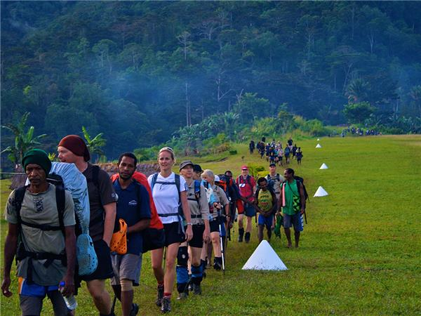 Kokoda track trekking holiday in Papua New Guinea