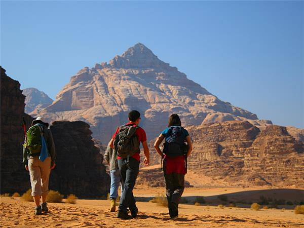 Petra and Wadi Rum trekking holiday