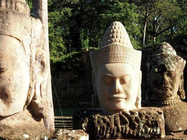 Ho Chi Minh City to Angkor Wat cycling tours, Vietnam and Cambodia
