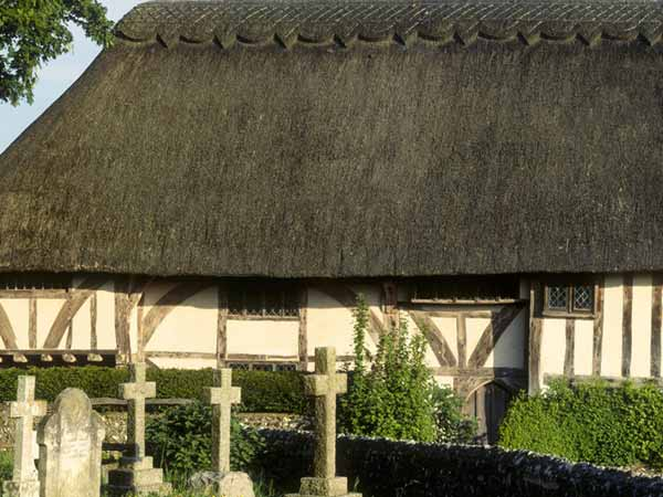 Alfriston Wealden hall house, East Sussex, England