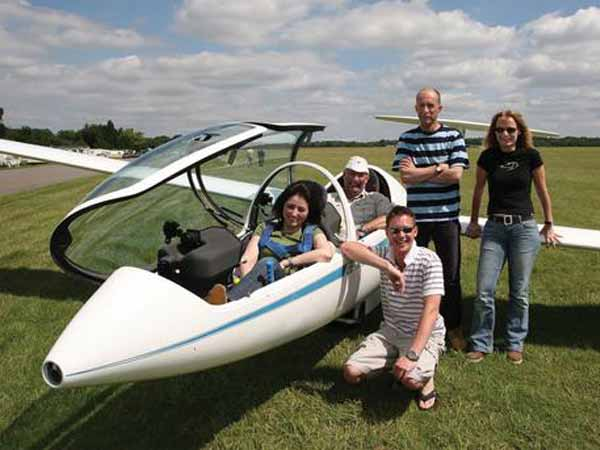 Gliding courses and lessons, South Downs, England