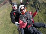 South Downs paragliding experience, Glynde, England