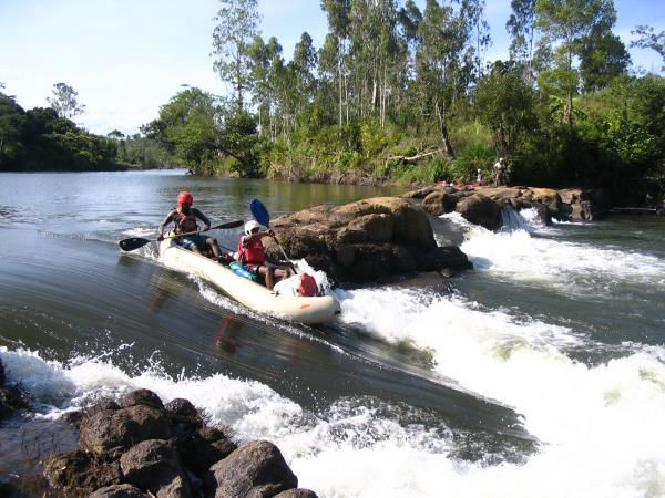 Trekking and rafting expedition in Madagascar