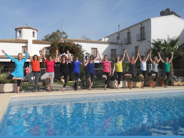 Yoga holidays in Spain