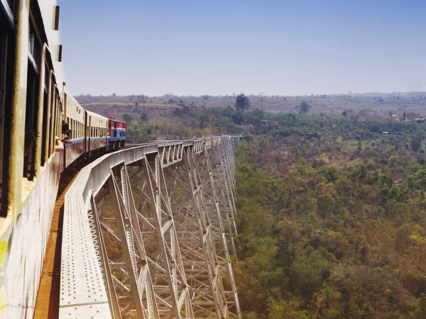 Burma holiday, rivers & railways