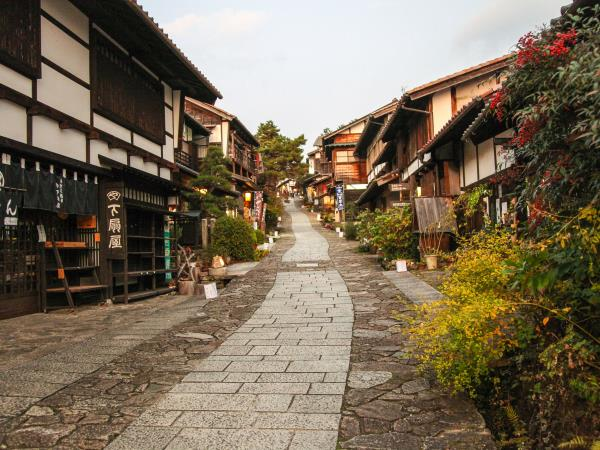Japan self guided walking holiday, Nakasendo Trail