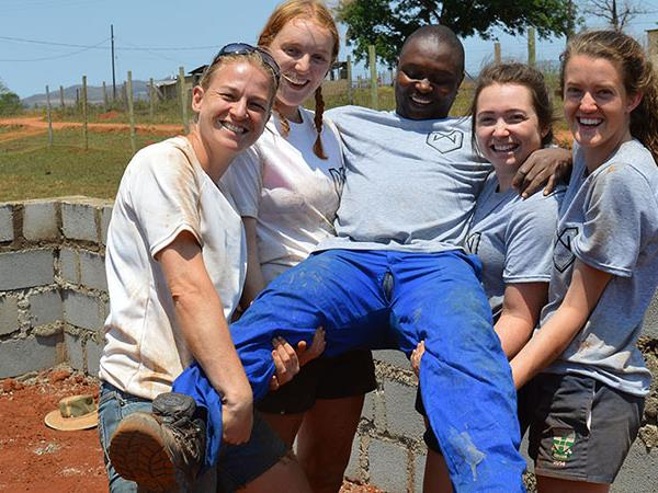 Southern Africa house building volunteering