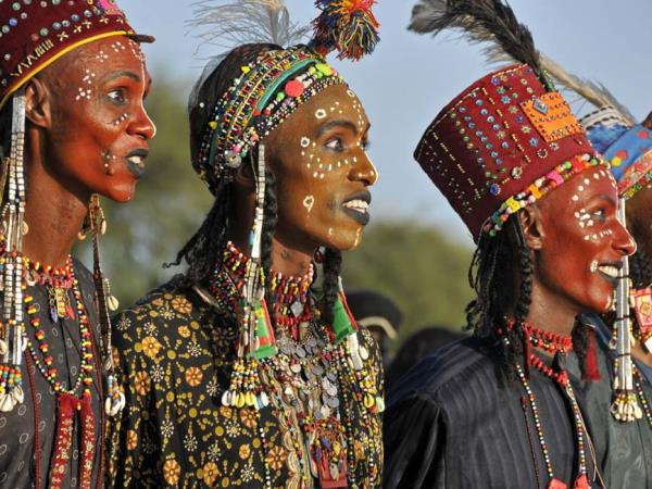 Gerewol festival holiday in Chad