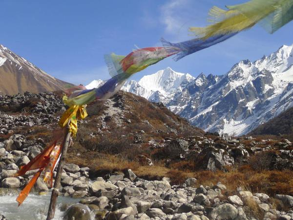 Nepal charity trek and yoga holiday